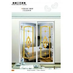 玻璃厂家推荐 衣柜移门玻璃印刷 定制生产加工